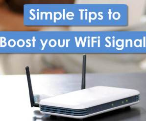 Simple and easy tips to boost your WiFi Speed at your home