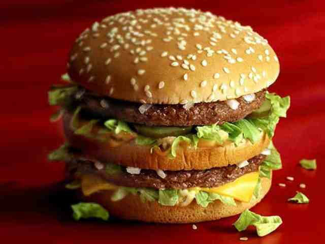 Incorruptible hamburger