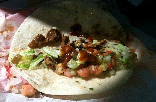 Taco Bells Seasoned Beef