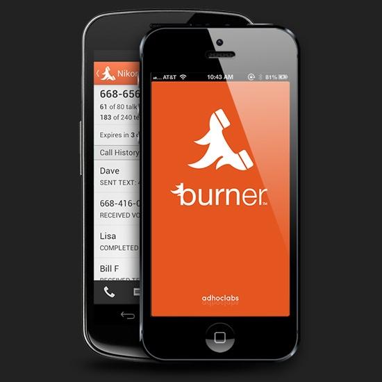 Burner-app