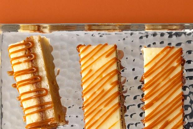 Caramel Cheesecake Bite