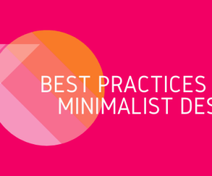 8 Best Practices for Minimalist Design