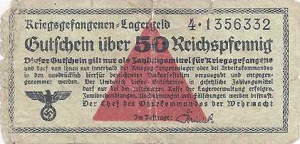 WW2  POW administrative documents