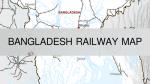 Bangladesh Railway Route Map | Train Road Map | BD Railways Map