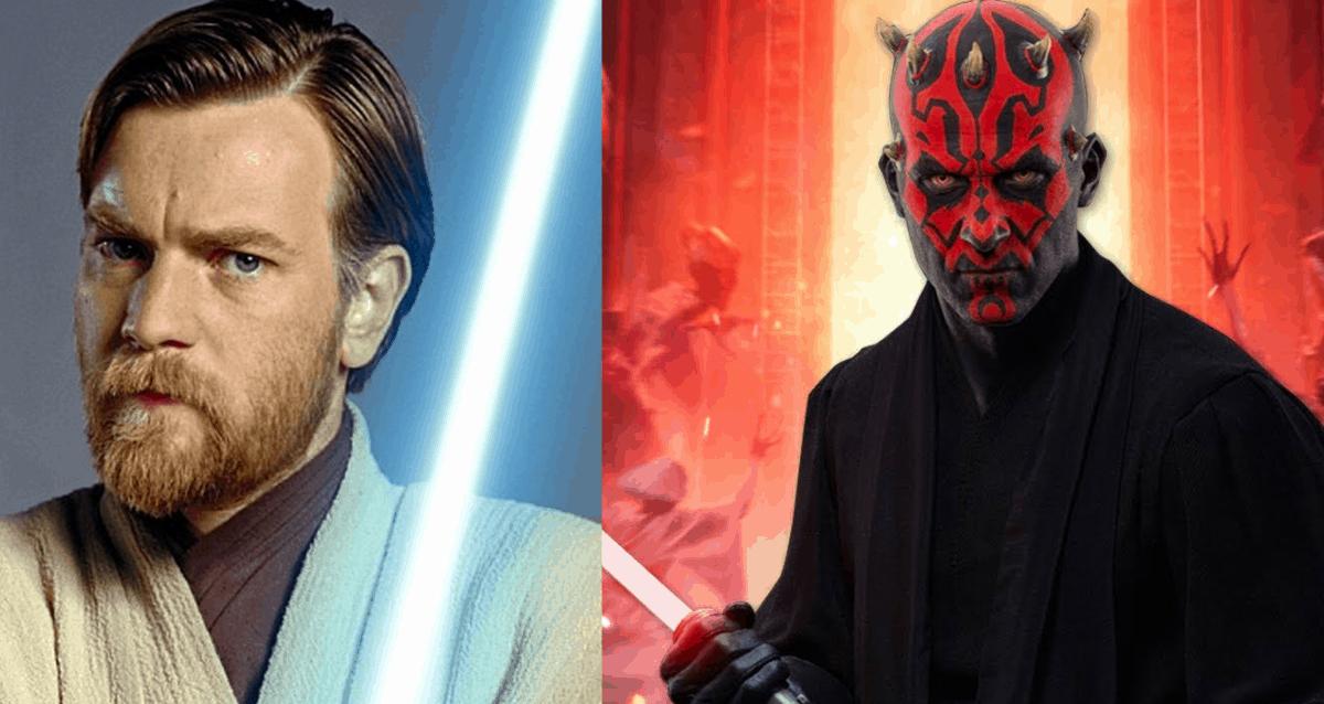 Darth Maul And Obi-Wan Kenobi