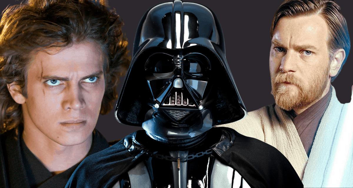 Vader, Anakin and Obi