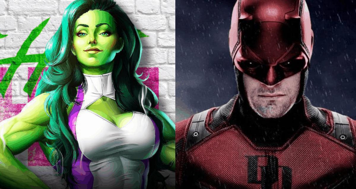 She-Hulk And Daredevil