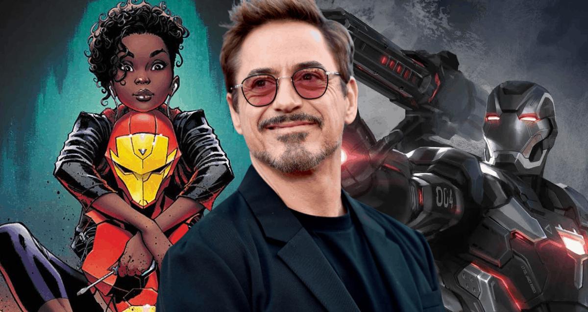 Tony Stark, Iron Heart And War Machine