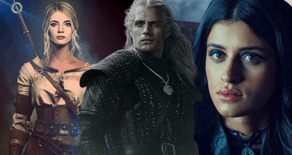 Witcher, Ciri and Yennefer
