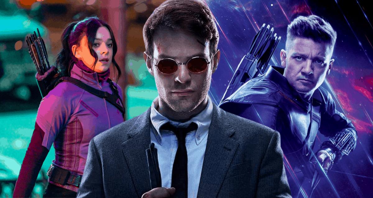 Daredevil In Hawkeye Series
