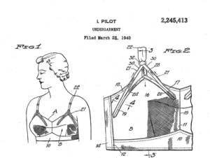 WonderBra Design (Public Domain)