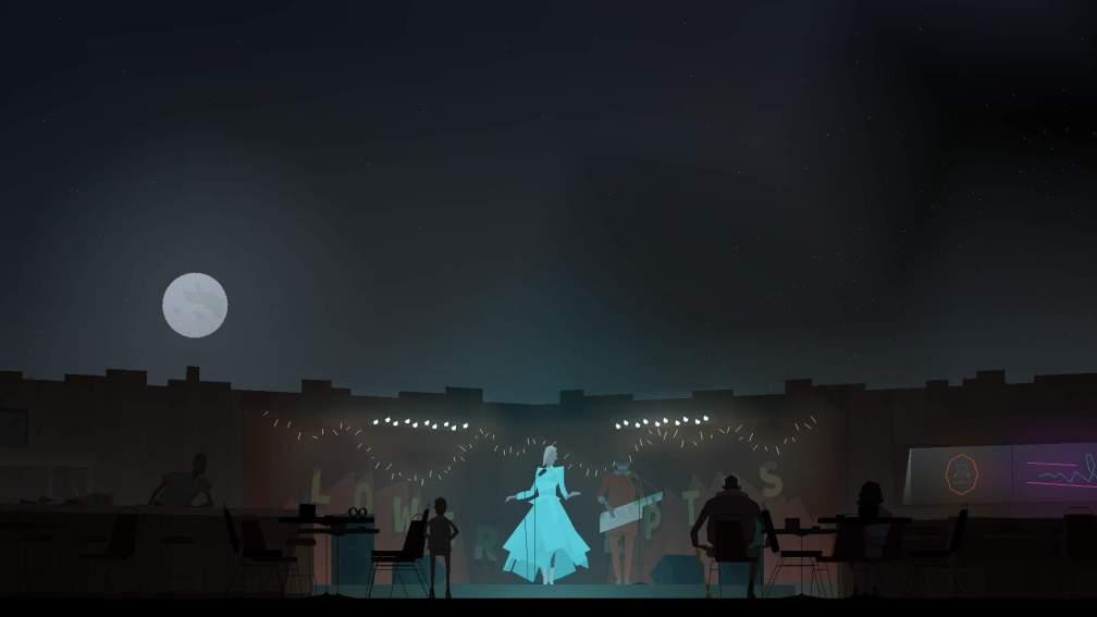 A screenshot of the video game Kentucky Route Zero (Cardboard Computer)