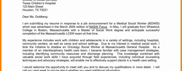 Cover Letter Example Medical Sample Cover Letter Example For Job Cover Letter Template Canada