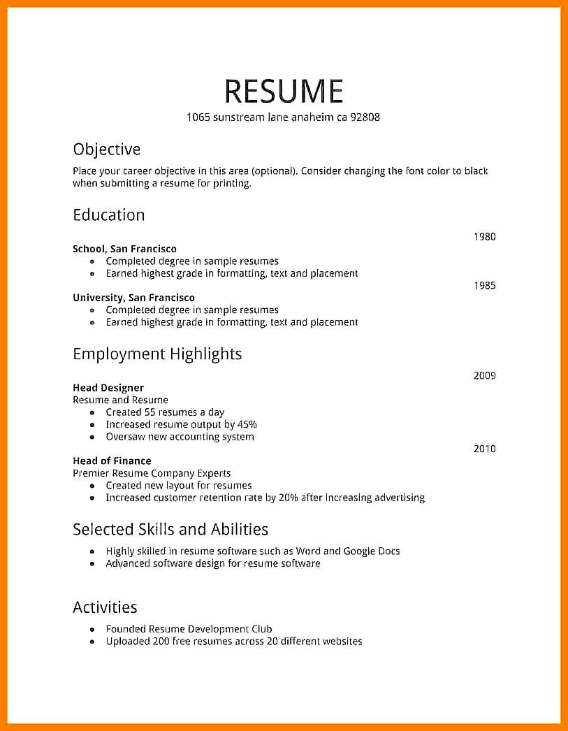 Create Resume Free Build Free Resume How To Cv Make Me Online Create Without Paying Pdf No Charge Do create resume free|wikiresume.com