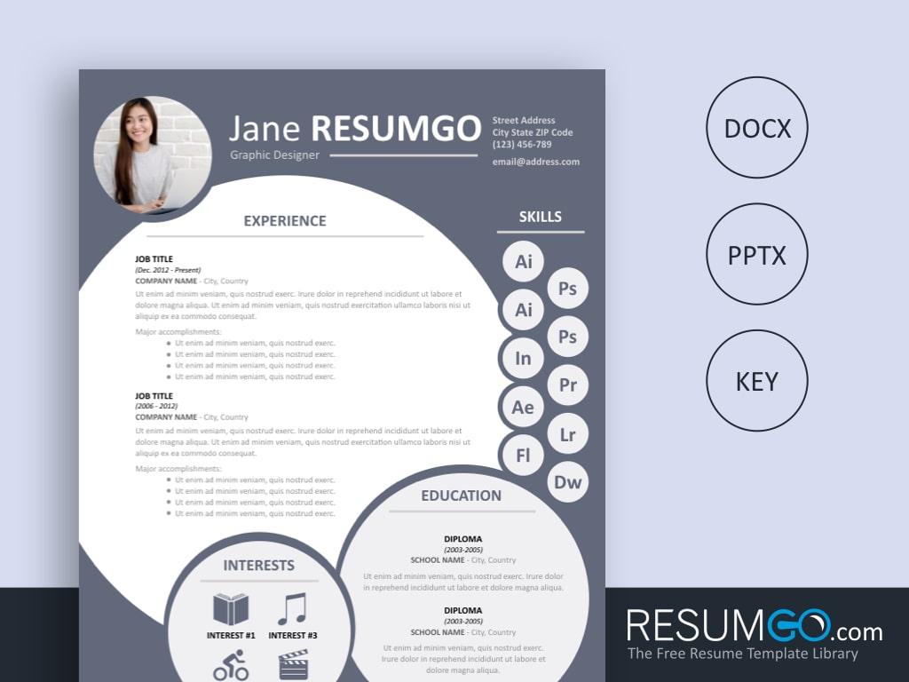 Creative Resume Template Free Nephele Free Resume Template Resumgo creative resume template free|wikiresume.com