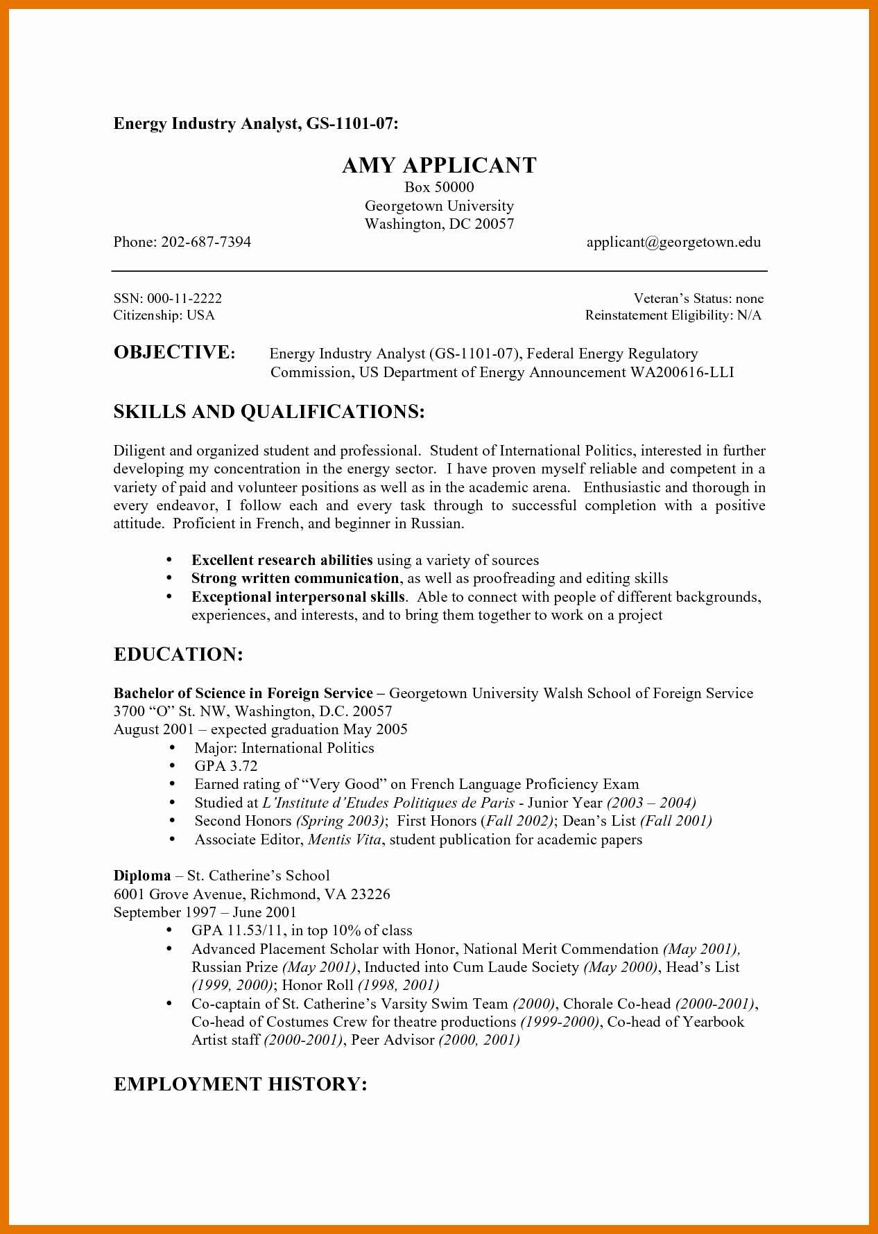 Federal Resume Template Federal Resume Template Fbi Creative Fbi Resume Template Also Military Resume Template Best Of Chic Military Spouse Federal Of Fbi Resume Template federal resume template|wikiresume.com