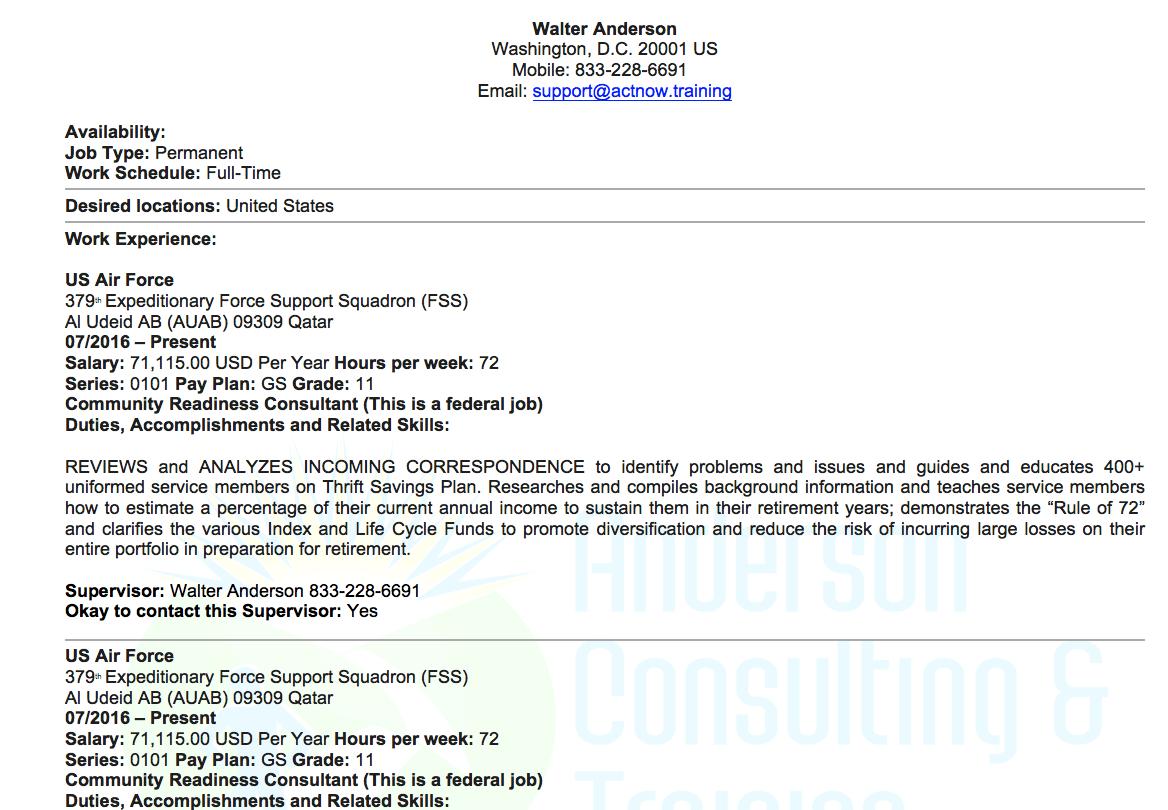 Federal Resume Template Federaltemplate 2 federal resume template|wikiresume.com