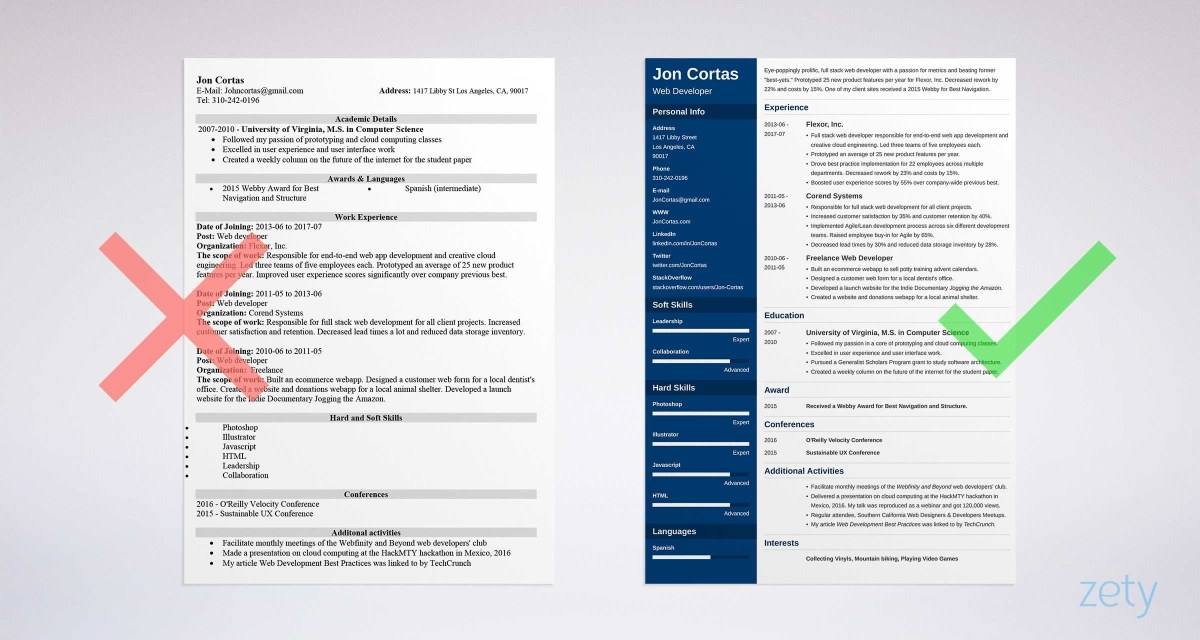 Free Resume Template Resume Template For Word Best Of Free Resume Templates For Word 15 Cv Resume Formats To Of Resume Template For Word free resume template|wikiresume.com