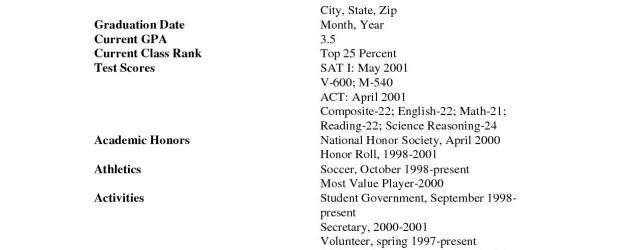 High School Resume Template High School Resume Template Pdf high school resume template|wikiresume.com