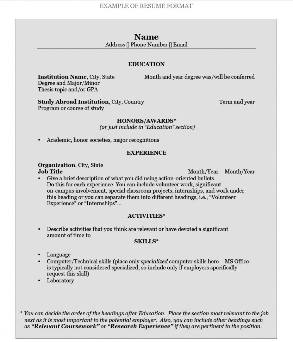 How To Write Resume Cdo Resume Format how to write resume|wikiresume.com