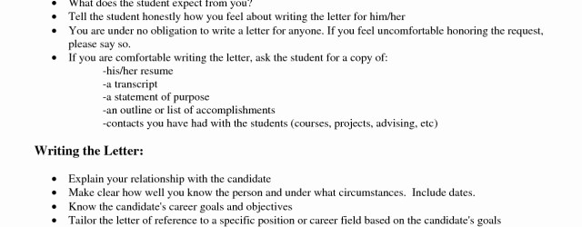 Letter Of Recommendation Template Job Letter Of Recommendation Job Recommendation Letter
