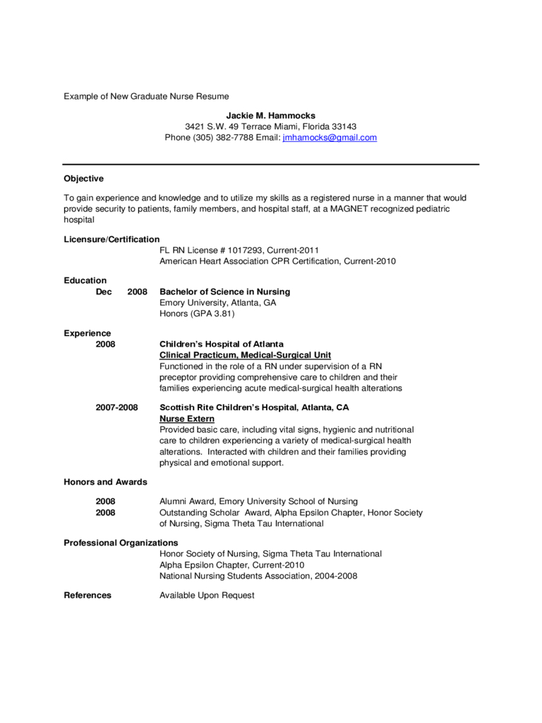 New Grad Nurse Resume New Grad Resume Free Letter Templates Jagsa Graduate Registered New Grad Registered Nurse Resume new grad nurse resume|wikiresume.com