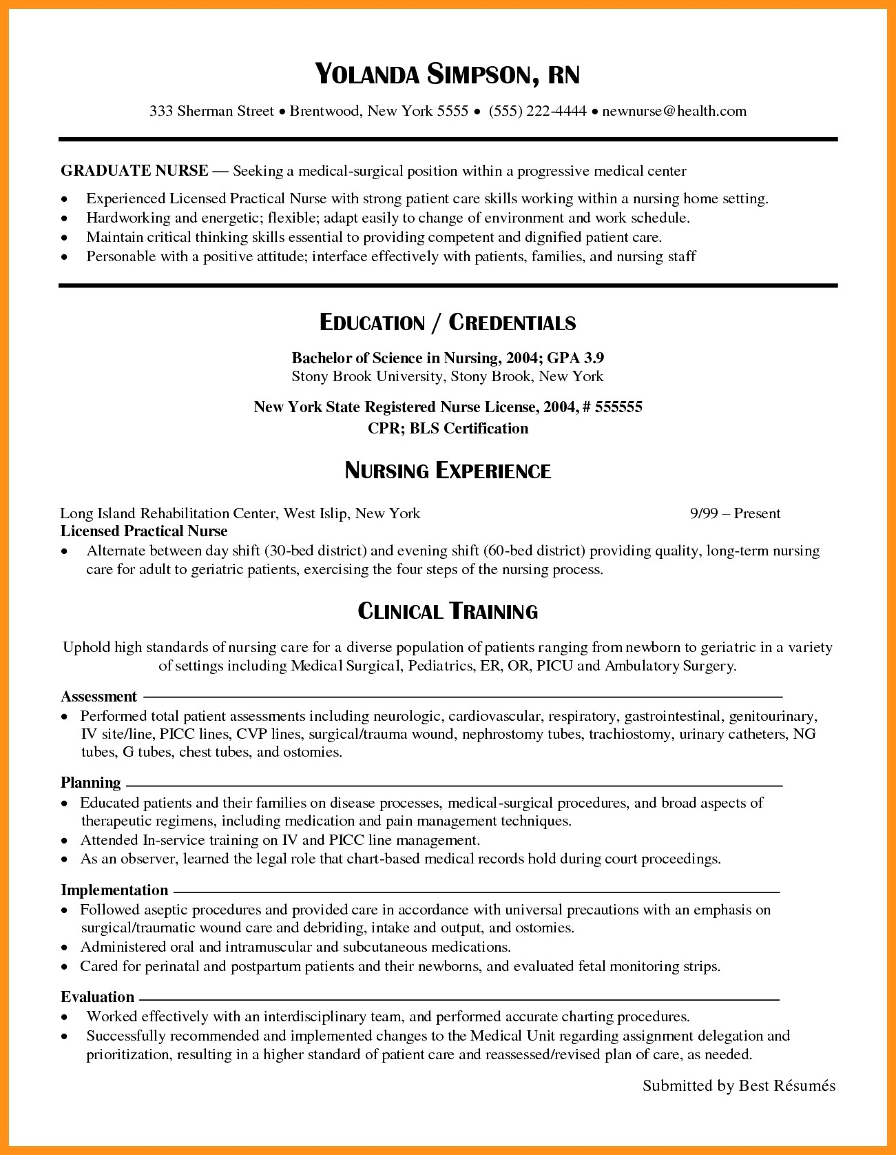 New Grad Nurse Resume Rn Resume Examples 2017 Elegant Nursing Samples New Grad Graduate Of Nurse new grad nurse resume|wikiresume.com