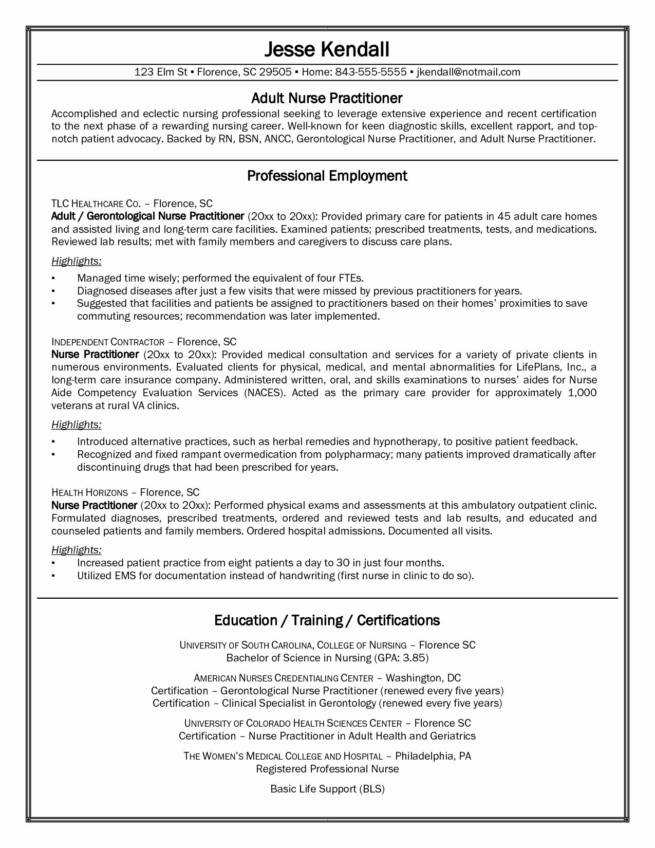 New Nurse Resume Results Based Resume Examples Awesome Wound Care Nurse Resume