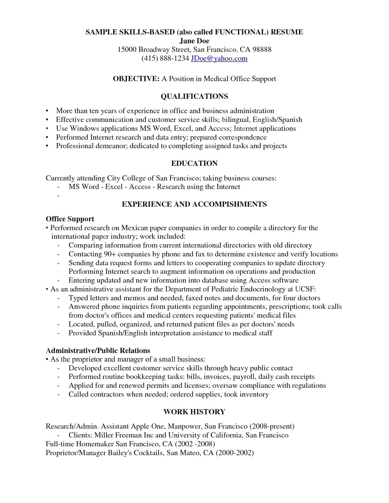 Resume Objective Examples  12 Caregiver Resume Objective Examples Samples Resume Database