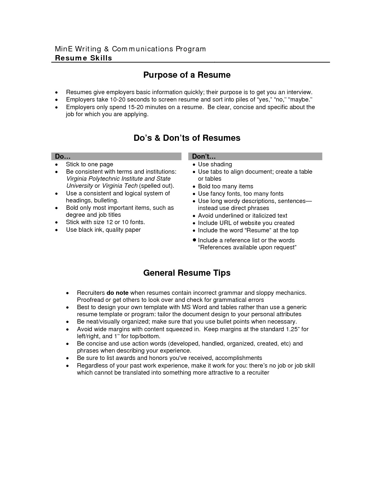 Resume Objective Examples  General Resume Objective Examples Elegant Samples Of 15 Basic Cmt