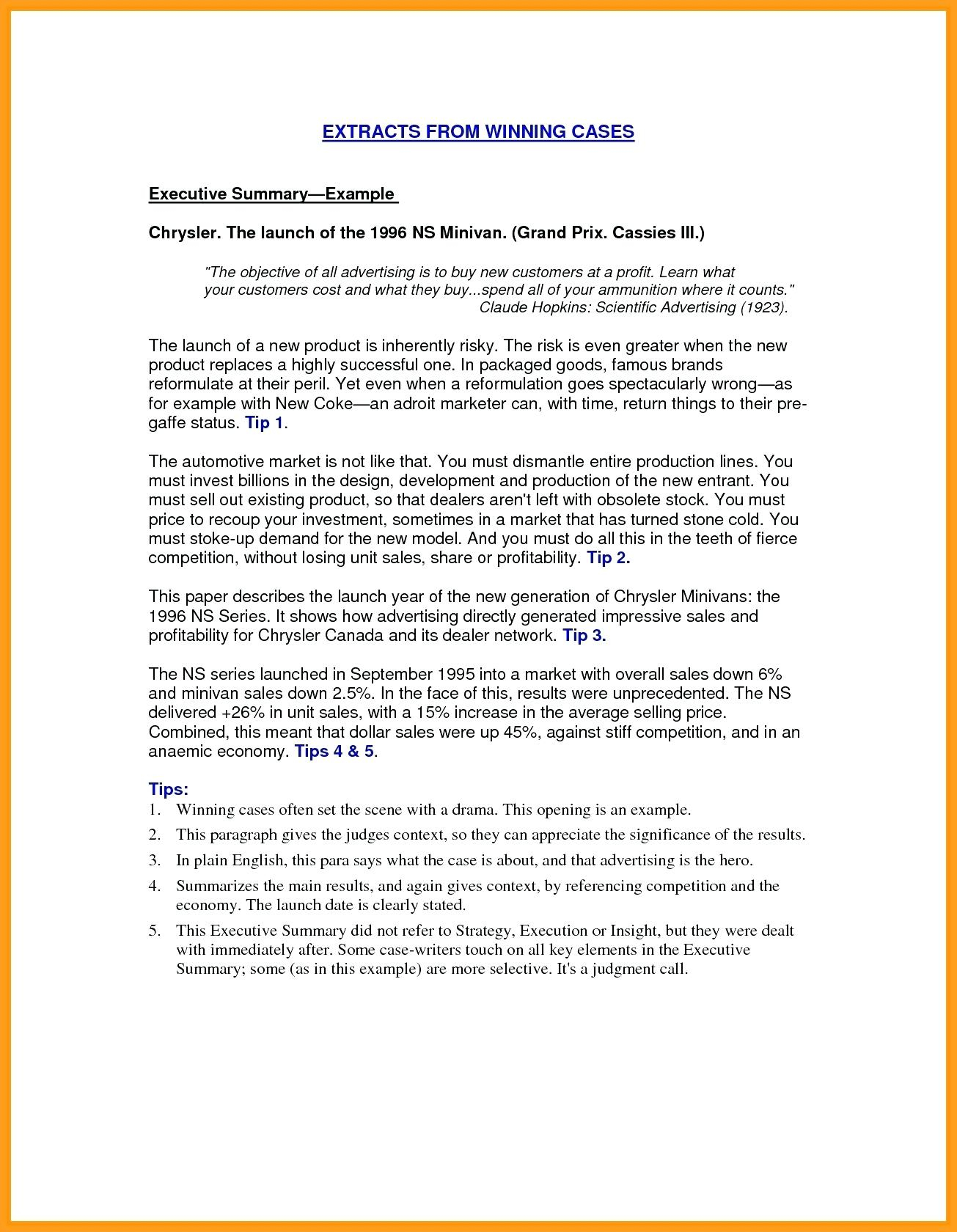 Resume Summary Examples Project Management Summary Template Management Summary Sample