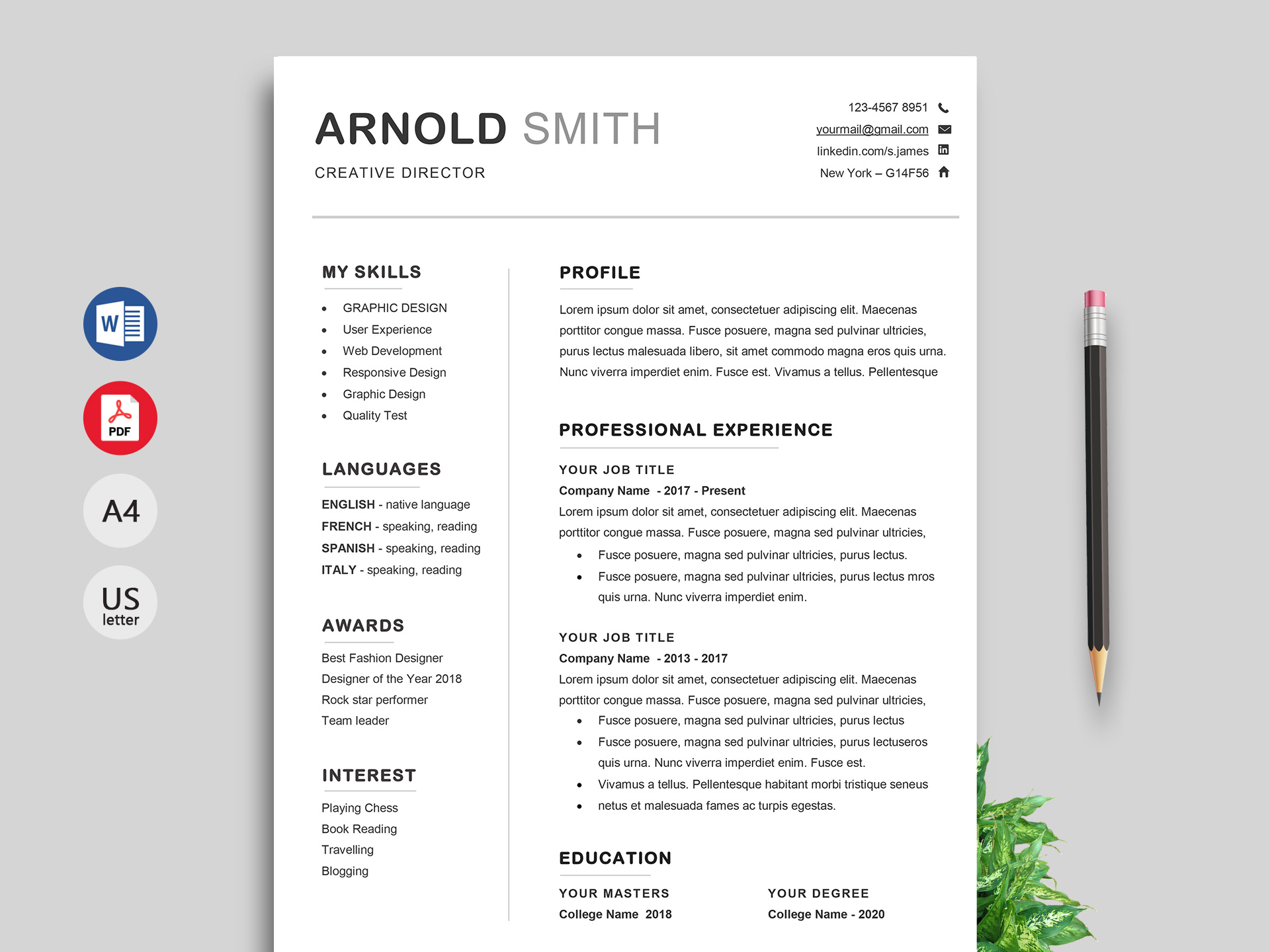 Resume Template Free Ace Word Resume Template Free Download 1 resume template free|wikiresume.com