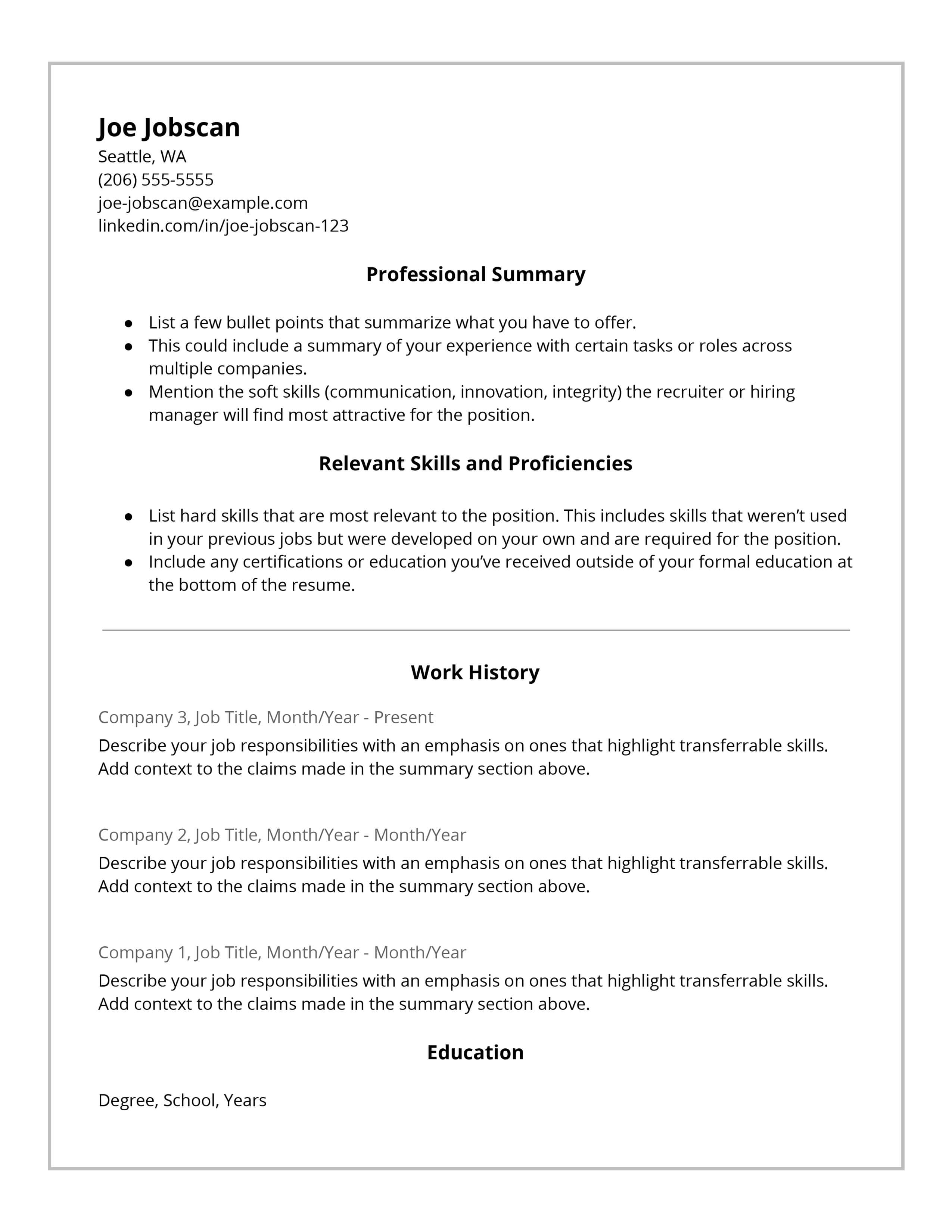 Resume Tips Skills 56 Resume Tips To Transform Your Job Search Jobscan Blog