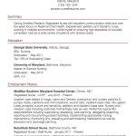 Sample Nursing Resume Pediatricnurse sample nursing resume|wikiresume.com
