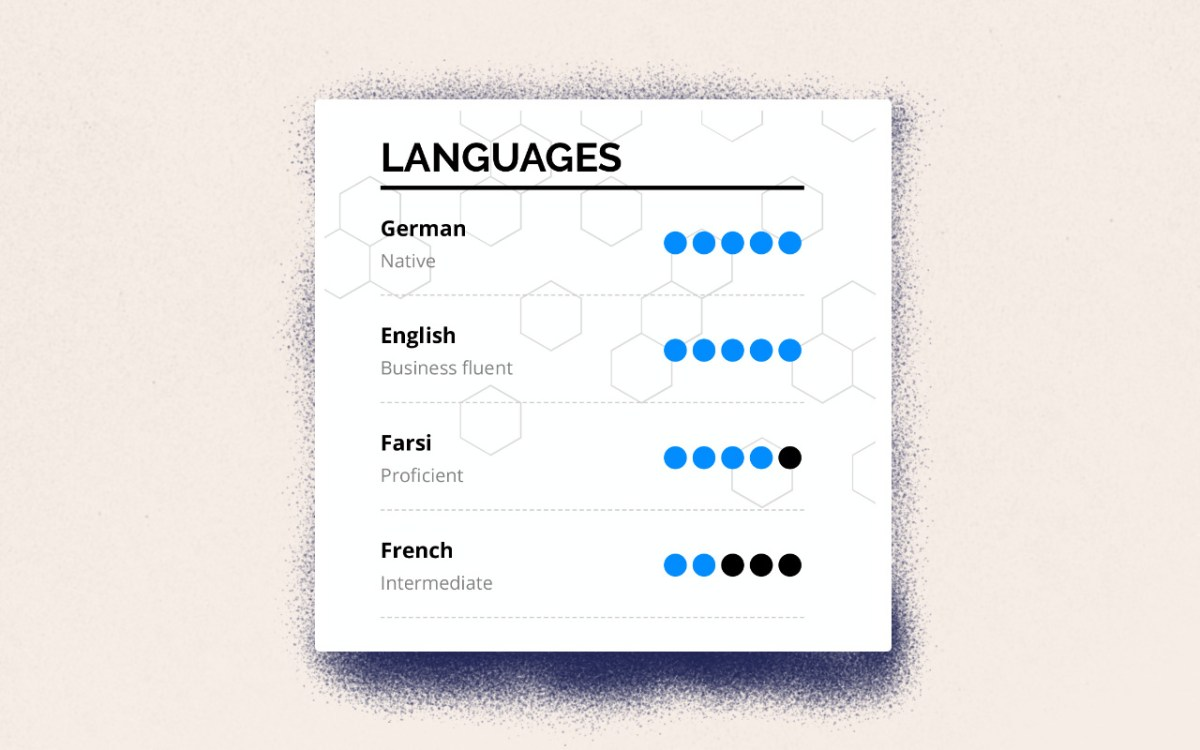 Skills For A Resume Sia Languages skills for a resume|wikiresume.com