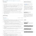 Social Media Resume Lorraine Wheat social media resume|wikiresume.com