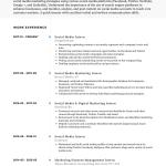 Social Media Resume Social Media Intern Cv Examples Air social media resume|wikiresume.com