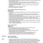 Social Work Resume Social Worker Msw Resume Sample social work resume|wikiresume.com