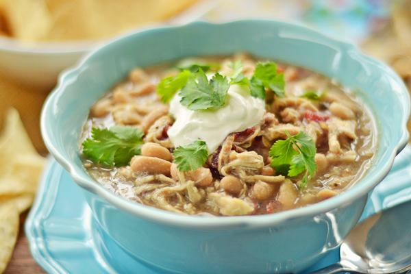 white chicken chili crockpot recipe