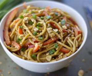 Asian Noodle Bowl Full Recipe