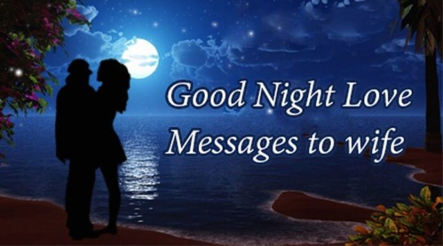 Good Night Love Messages For Wife
