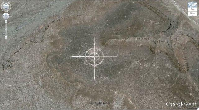 Giant Target-Nevada, USA