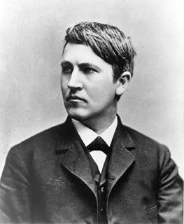 Thomas Alva Edison Young Photo
