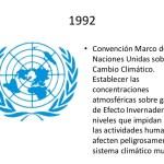 Convención Marco de Naciones Unidas sobre el Cambio Climático
