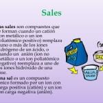 Las Sales Químicas