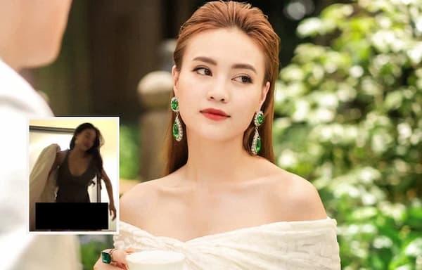 Nghi vấn Ninh Dương Lan Ngọc lộ clip 18+ trên web đen.