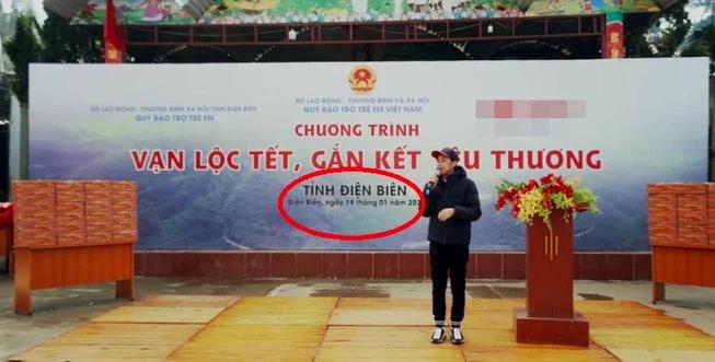 Tóm tắt video Hoài Linh xin lỗi vụ từ thiện - hình ảnh Hoài Linh đi từ thiện nhãn hàng nhưng không đi cứu trợ miền Trung