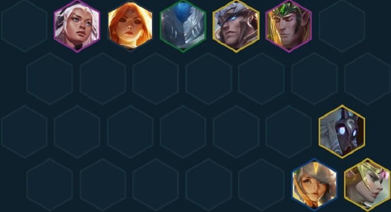 Đội hình đtcl Thiên Thần Quân Đoàn