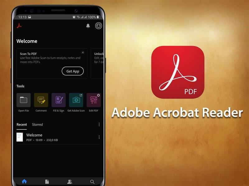 Phần mềm đọc PDF cho điện thoại