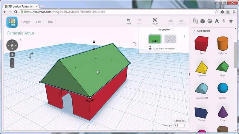 Phần mềm vẽ 3D miễn phí Tinker CAD